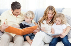 общение с детьми фото