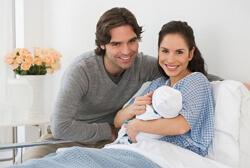 Помощь мужа в родах